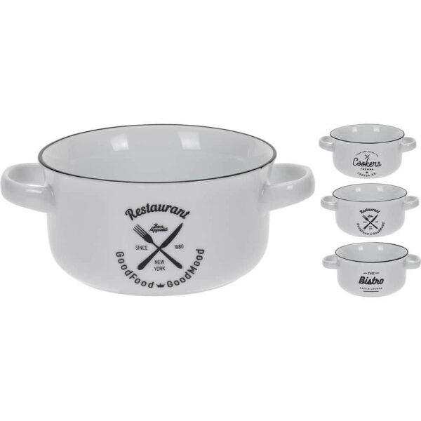 Porcelánové misky na polévku
