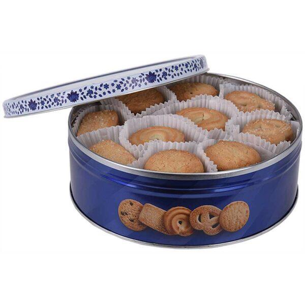Máslové sušenky v plechové dóze