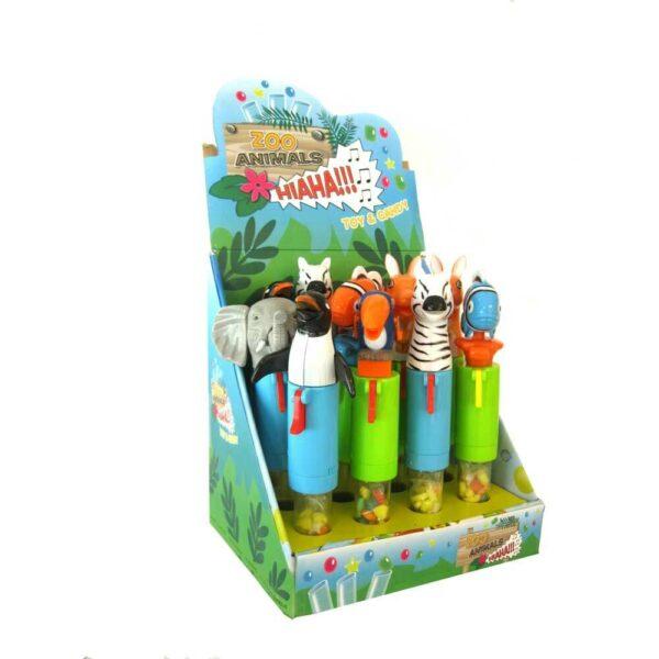 Bonbony a hračkou ve tvaru zvířátka