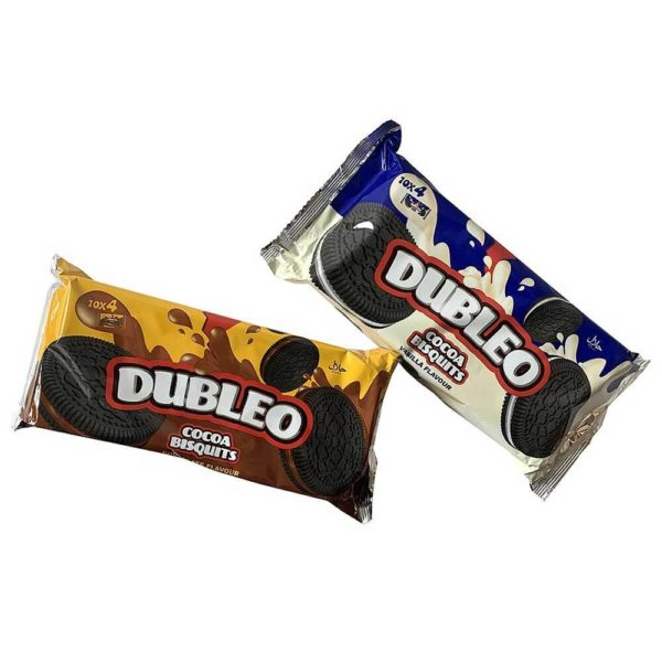 Sušenky Dubleo's 2 druhy