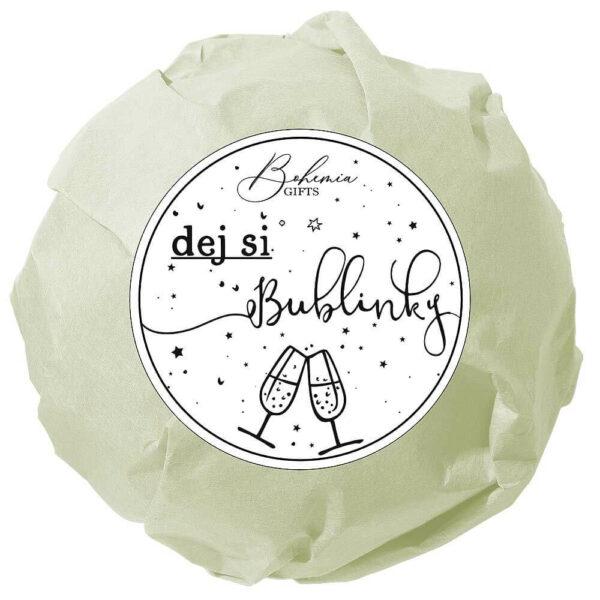 Šumivá bomba do koupele - Dej si bublinky